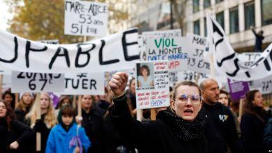 Decenas de miles marchan en París contra violencia doméstica 3
