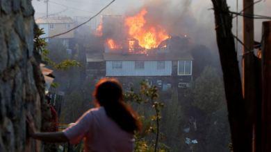 """Chile: Autoridades sospechan que incendios en Valparaíso podrían ser """"intencionales"""" 3"""