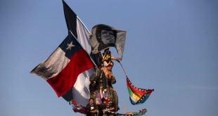 """Chile prepara """"Año Nuevo con dignidad"""" y despedida en la calle 9"""