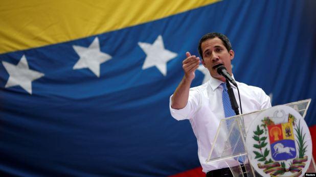 """EE.UU. dice que no otorga fondos """"directamente"""" a Guaidó 1"""