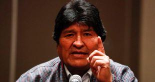 El MAS ubica a Evo Morales como su jefe de campaña para 2020