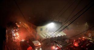 Incendio en México deja 2 muertos y varios heridos 5