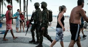 Más de 2.000 policías custodiarán festejos de Año Nuevo en Rio de Janeiro 17