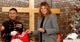 Melania Trump se abre su propio camino durante el juicio 7