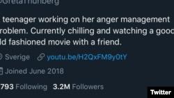 "Trump a Greta Thunberg: ""Cálmate, Greta, Cálmate"""