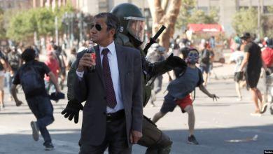 Violentos disturbios en nueva protesta en Chile 50 días después del estallido social 4