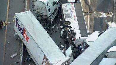 Cinco muertos en choque vehicular múltiple en Pensilvania 3