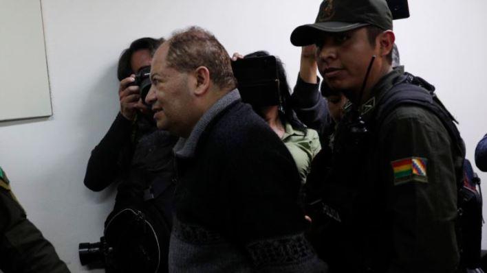 Enviado a prisión Carlos Romero, exministro de Evo Morales 2