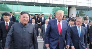 Trump envía mensaje al presidente norcoreano Kim Jong Un en su cumpleaños 3