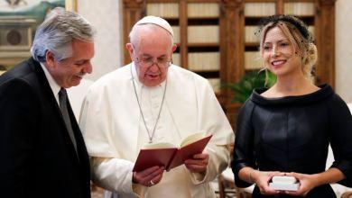 El papa conversa con el presidente argentino en el Vaticano 5