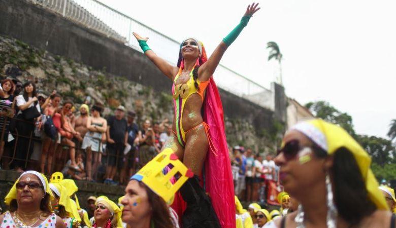 Río de Janeiro se prepara para la apoteosis del Carnaval 1