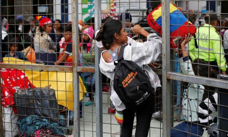 Ecuador cede prórroga a venezolanos