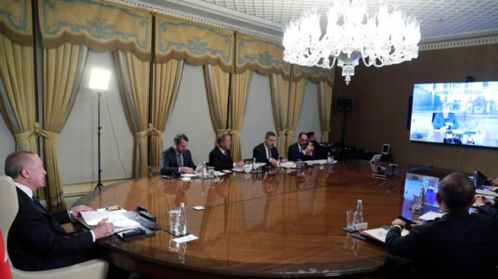 Líderes europeos discuten por videoconferencia los retos de los refugiados sirios y el coronavirus 1
