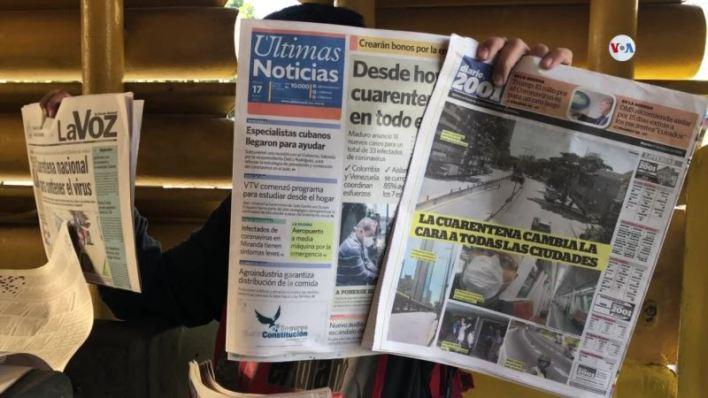 Venezolanos acatan medidas de prevención en transporte público 1