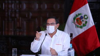Martín Vizcarra extiende etado de emergencia hasta el 30 de Junio