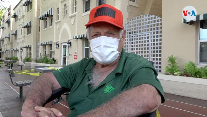Retirees in Miami during the pandemic