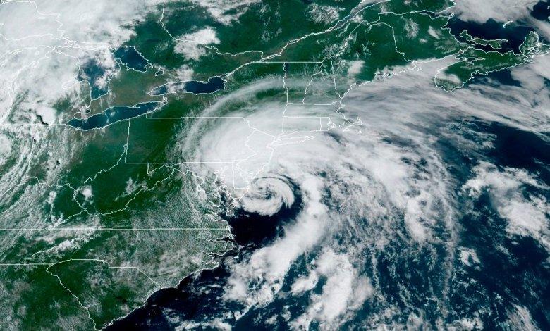 Tormenta tropical Fay impactó en Nueva Jersey con vientos de hasta 80 km por hora 1