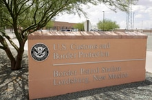 The facade of U.S. Customs and Border Protection's Border Patrol station is pictured in Lordsburg, New Mexico, U.S., June 26,…