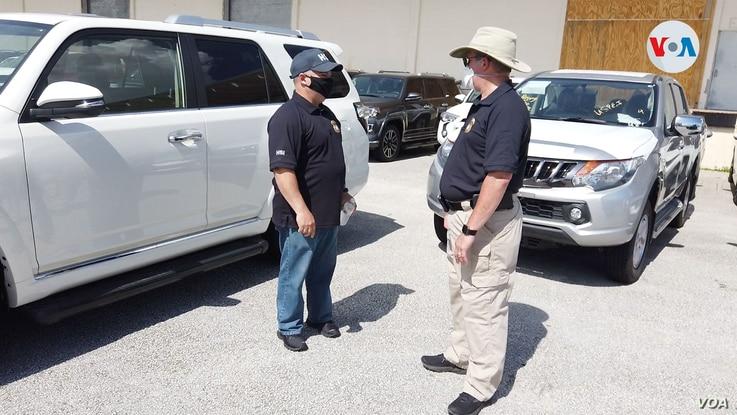 Confiscan 81 vehículos en Miami que iban a ser enviados ilegalmente a Venezuela 1