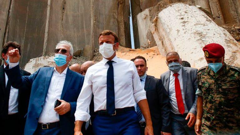 Anuncian creación de conferencia internacional de apoyo a Beirut tras explosiones 1