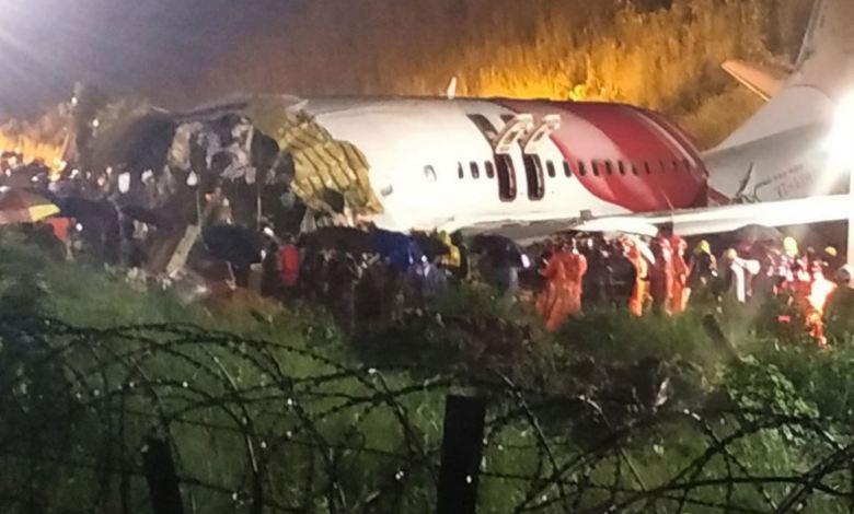 India: Avión se parte en dos durante aterrizaje y deja al menos 17 fallecidos 1