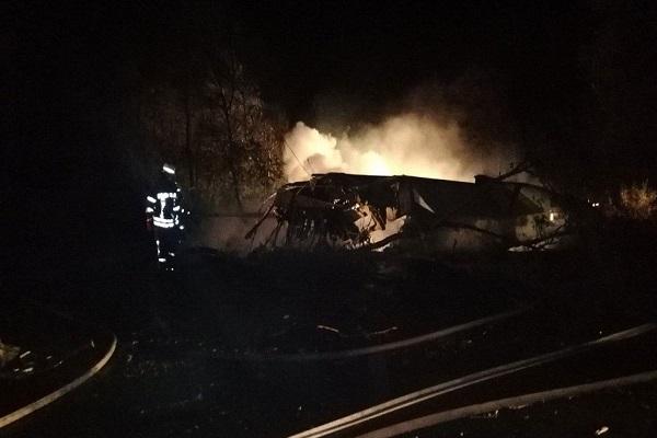 Avión militar se estrella en Ucrania y deja al menos 22 fallecidos 1