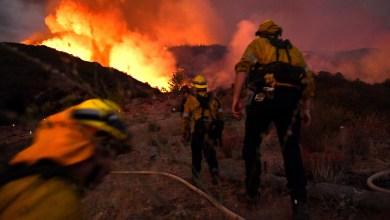 Declaran estado de emergencia en California por incendios forestales 2