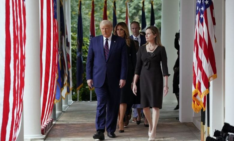 Trump nominó a conservadora Amy Coney como candidata a la Corte Suprema 1