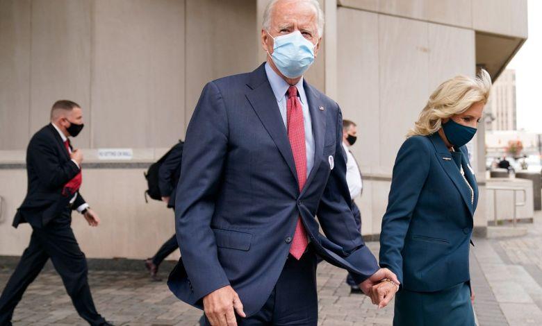Biden cierra campaña y espera primeros resultados en Delaware 1