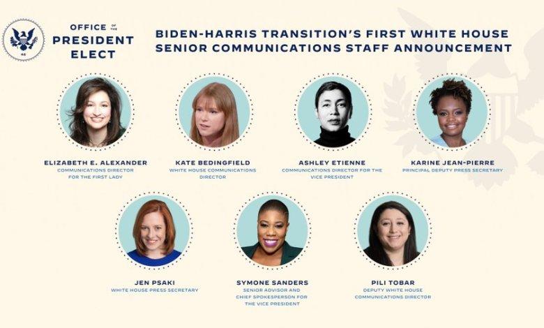 Equipo femenino liderará las comunicaciones en la Casa