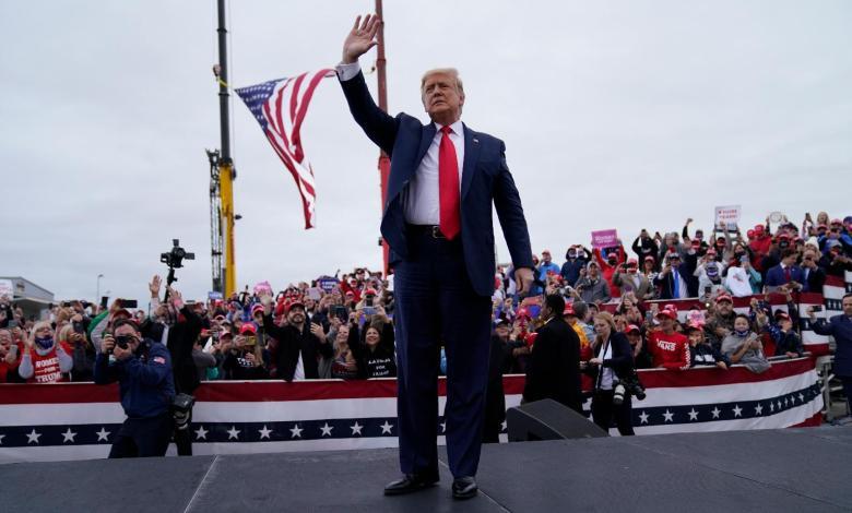 Estados Unidos: Trump recorre cinco estados clave a solo dos días de las elecciones 1