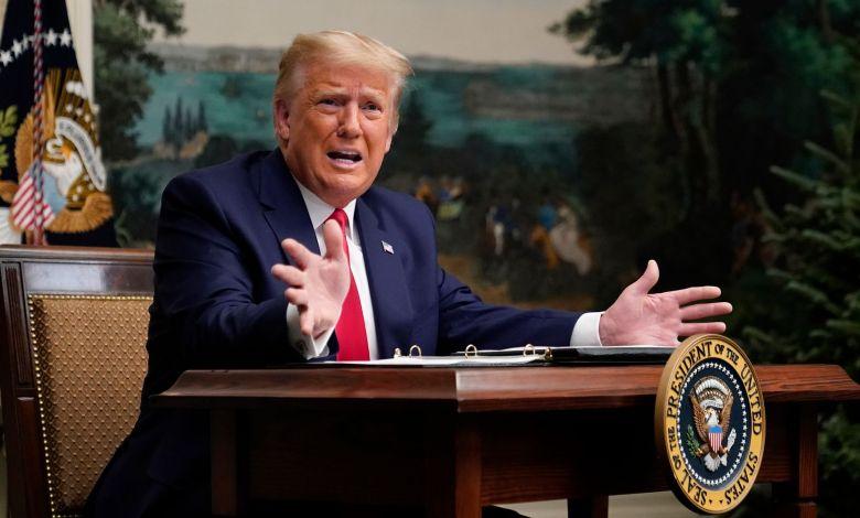 Trump asegura que dejará la Casa Blanca si Colegio Electoral otorga la victoria a Biden 1