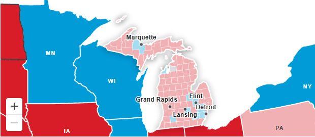 Trump denuncia intento de fraude y pide suspender conteo de votos en Michigan 1
