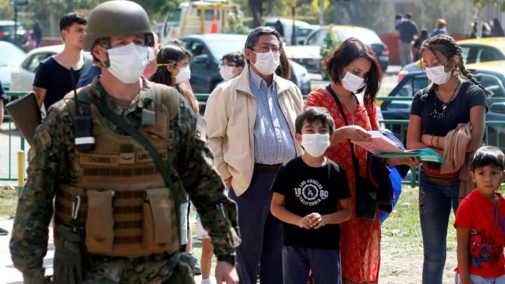 Chile registra repunte de coronavirus con más de 2,000 casos diarios 1