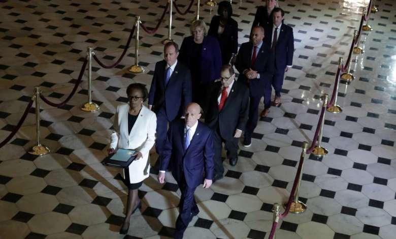 Cámara de Representantes presenta ante el Senado acusación formal contra Donald Trump 1