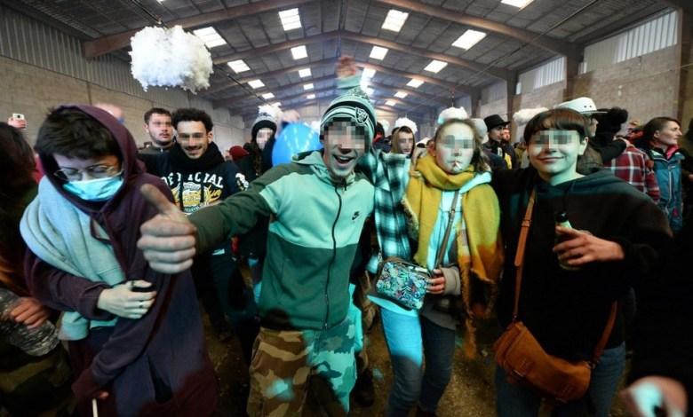 Preocupación en Francia por multitudinaria fiesta clandestina de Año Nuevo 1