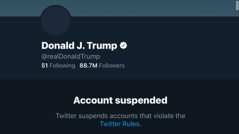 Twitter suspende cuenta de Donald Trump de forma permanente 1