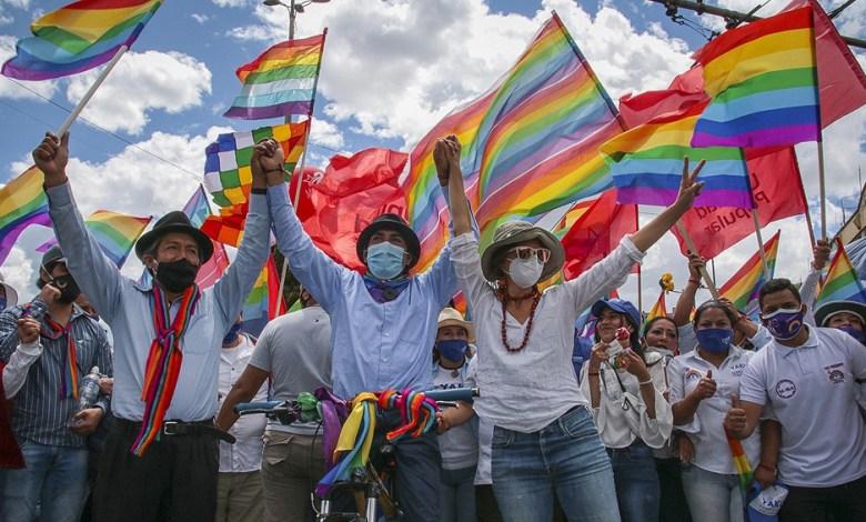 Ecuador: Seguidores de Yaku Pérez marchan para exigir recuento de votos 1