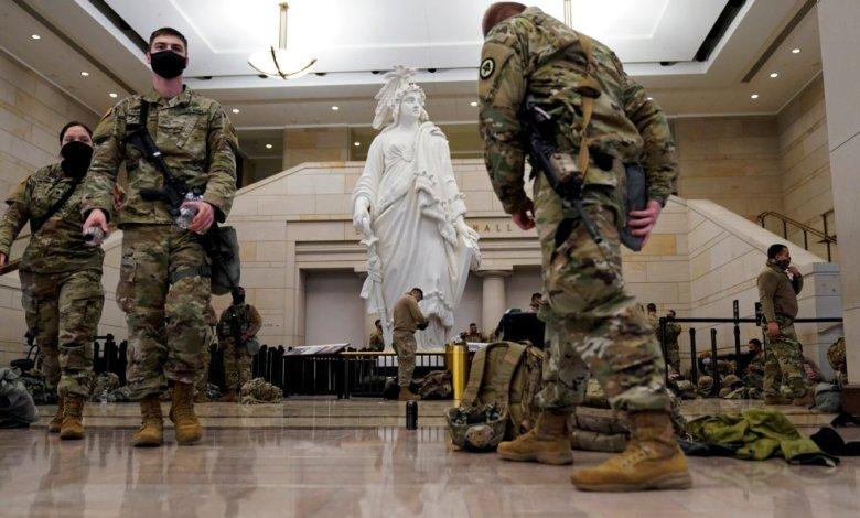 Solicitan que Guardia Nacional siga custodiando el Capitolio por dos meses 1