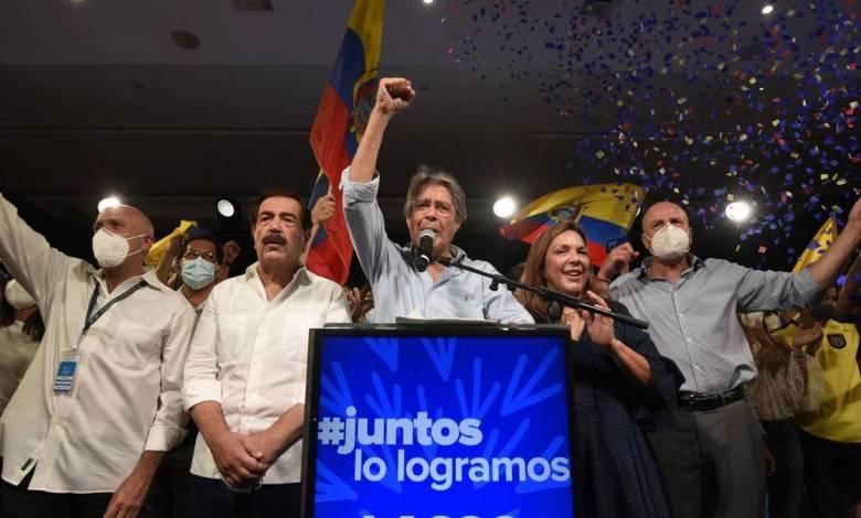 Guillermo Lasso se impone en la segunda vuelta y será el próximo presidente de Ecuador 1