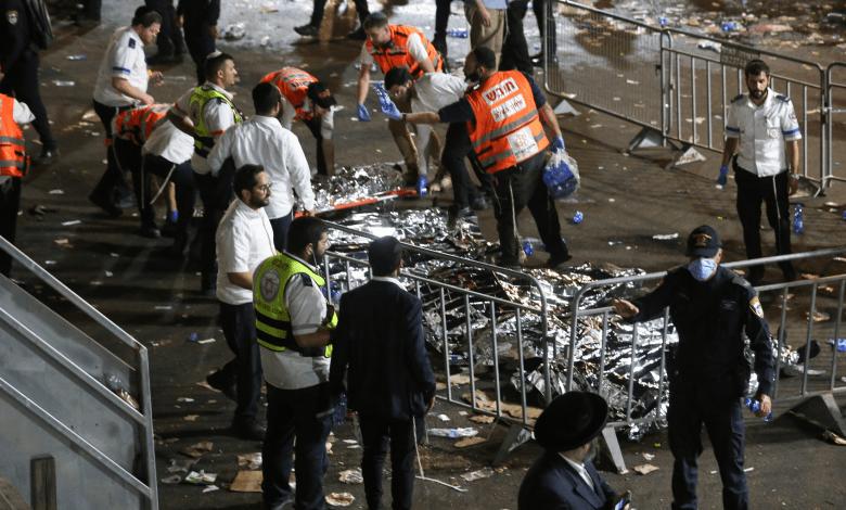 Israel: Estampida humana durante peregrinación judía deja al menos 44 muertos 1