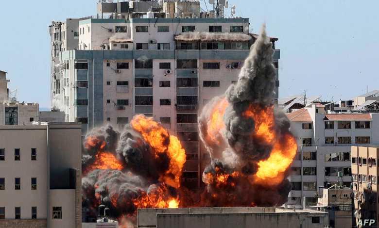 Israel bombardea sedes de agencias AP y Al Jazeera en Gaza 1