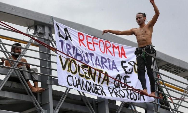 Protestas en Colombia han dejado 17 fallecidos hasta el momento 1