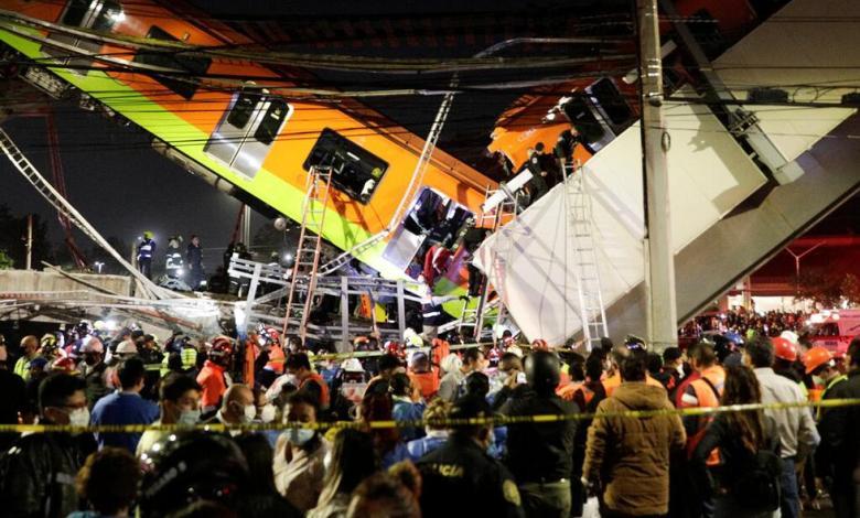 Tragedia en México: Vía del Metro colapsa y deja al menos 24 muertos 1