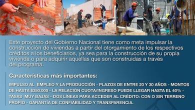 Photo of Procrear: Programa Crédito Argentino del Bicentenario para la Vivienda Única Familiar