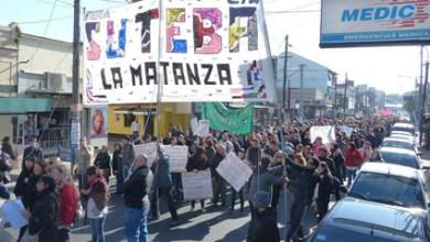 """Photo of """"Terminamos el año luchando"""", dijeron: Este viernes se movilizará el Suteba local"""