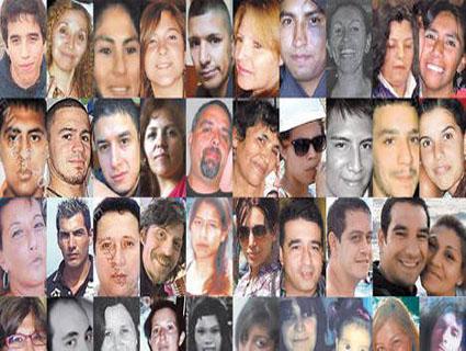 MAT7 Victimas de la tragedia