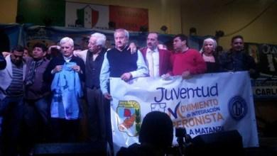 Photo of San Justo  La noche en que Caló promovió la candidatura de Gdansky