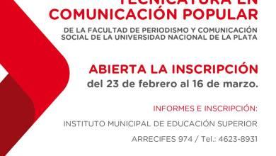 Photo of Morón: Cierra Hoy La Inscripción Para La Tecnicatura De Comunicación Popular