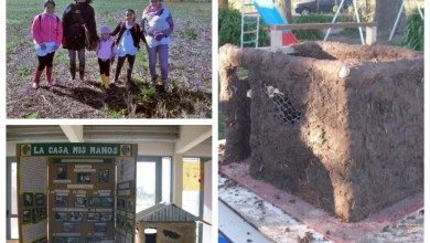Photo of Bonaerenses:En una escuela aprenden a construir casas con barro